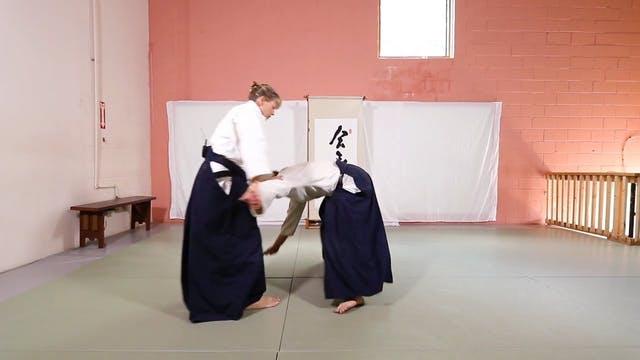 Ushiro Ryote Dori Sankyo