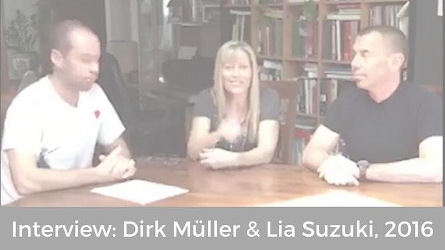Interview: Dirk Müller & Lia Suzuki, 2016