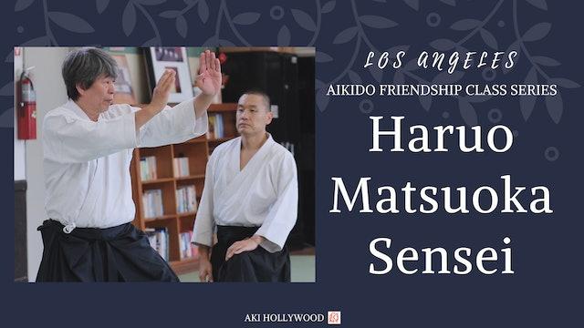LA Friendship Class Series: Haruo Matsuoka Sensei