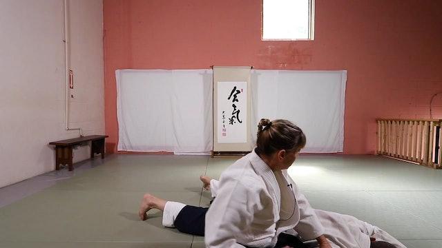 Suwari Waza Shomen Uchi Nikkyo