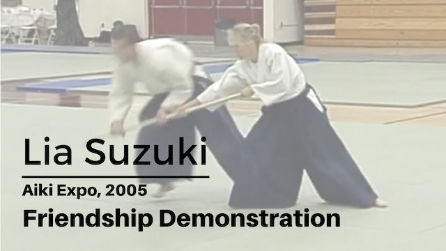 Demonstration: Lia Suzuki at Aiki Expo, 2005