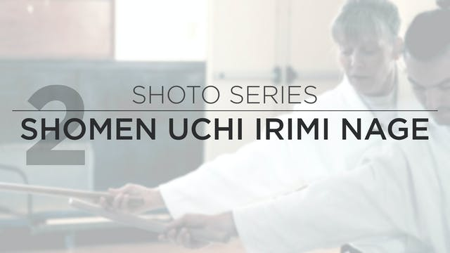 Shoto Series: 2. Shomen Uchi Irimi Tenkan