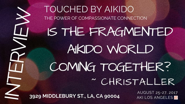 Is the Fragmented World of Aikido Coming Together? ~ Christaller