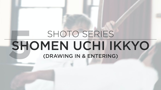 Shoto Series: 5. Shomen Uchi Ikkyo (Drawing Out & Entering)