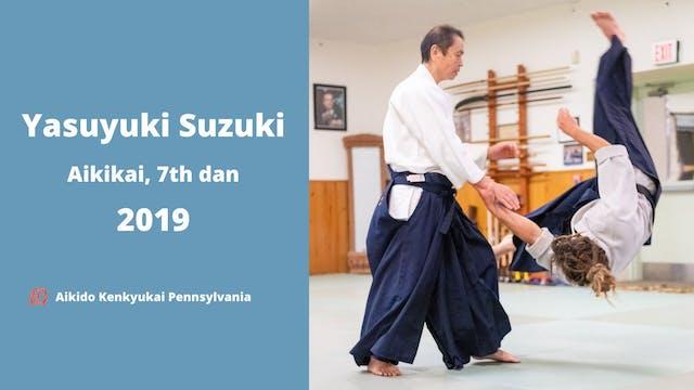 Suzuki Yasuyuki Sensei Seminar, October 2019