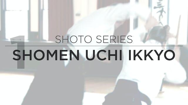 Shoto Series: 1. Shomen Uchi Ikkyo
