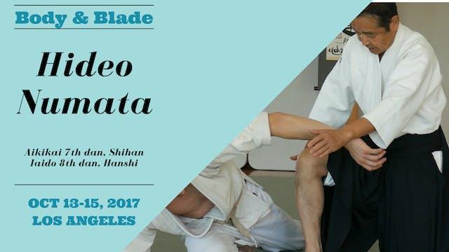 Hideo Numata, Day 1: Body & Blade Seminar
