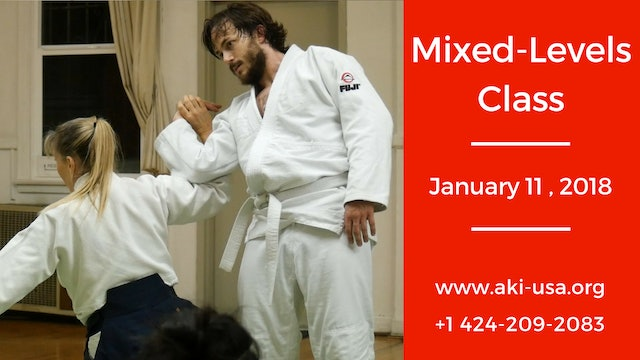 Mixed Levels Class: January 11 2018
