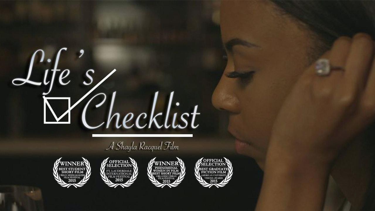 Life's Checklist (Short Film)