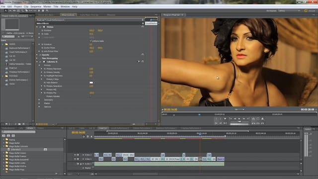 Color Correction - Tomorrow Tonight