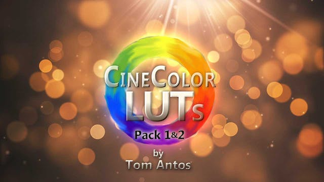 CineColor LUTs by Tom Antos - Combo - Pack 1 & 2