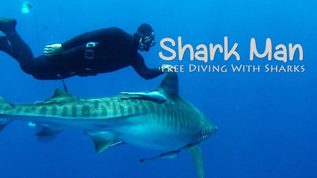 SHARK MAN - 1 - Free Diving With Mark...