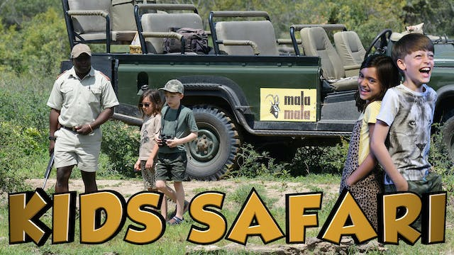MALA MALA KIDS SAFARI - JUNIOR RANGERS
