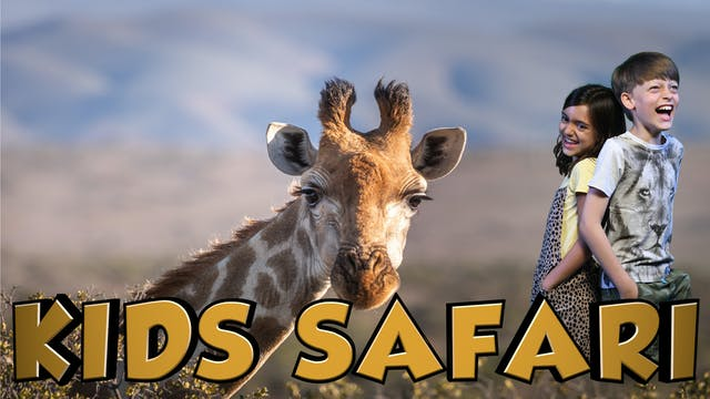MALA MALA KIDS SAFARI - GIRAFFE AND F...