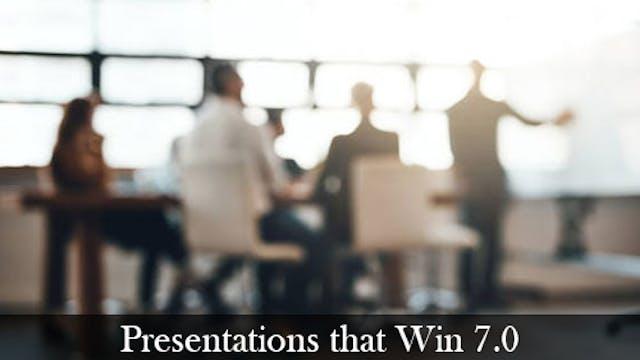 Presentations that Win 7.0