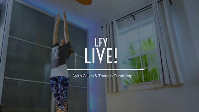 Liquid Fire Yoga LIVE!