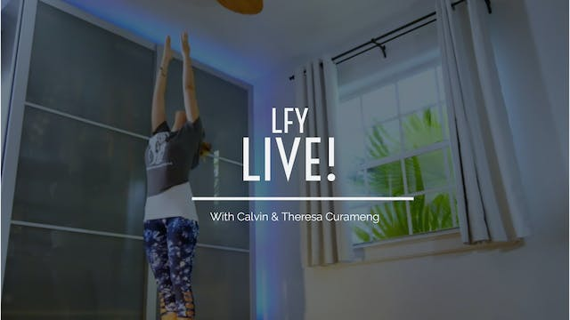 Liquid Fire Yoga LIVE!