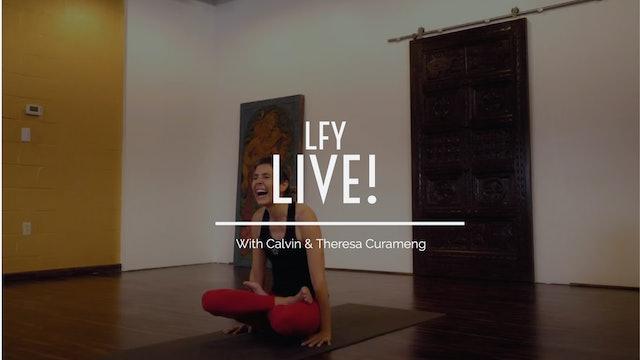 Liquid Fire Yoga - Live! - Astanga Birthday Sequence