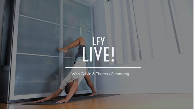 Liquid Fire Yoga Live - Spring Edition