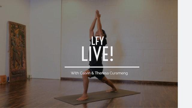 Liquid Fire Yoga - Open your hips
