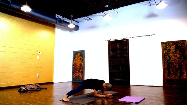 Liquid Fire Yoga Live! - A morning session with T