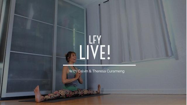 Liquid Fire Yoga - Live! Featuring Indra