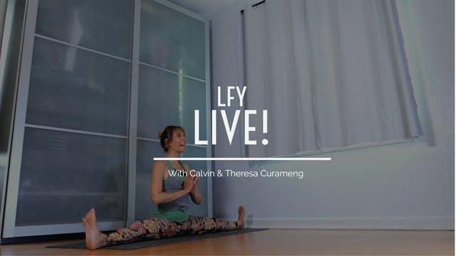 Liquid Fire Yoga - Live! Featuring Indra