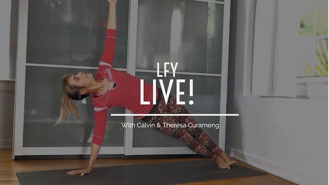 Liquid Fire Yoga LIVE! Warm Vibes