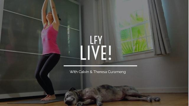 Liquid Fire Yoga - Live! Ashtanga with Indra
