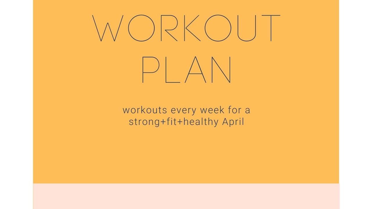 May Workout Plan