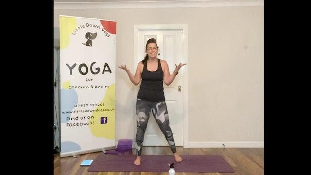 Yoga Shred®️ - Legs & Bum