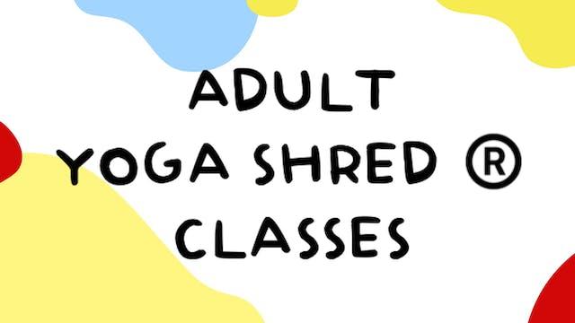 Adult Yoga Shred®️