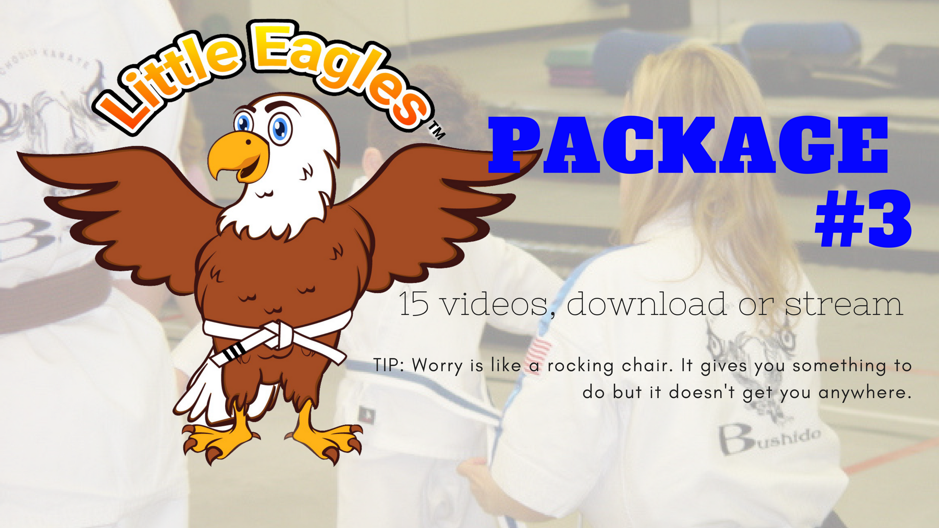 Little Eagles® Martial Arts, Package 3