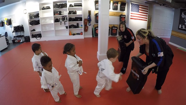 6- Taking Turns, Group Kick and Punch Drills
