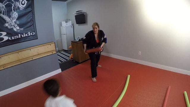 4-Balance & Coordination,Noodles and knee kicks