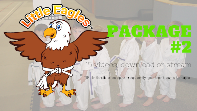 Little Eagles® Martial Arts, Package 2