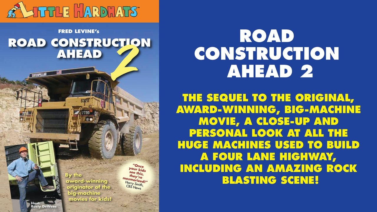 fred levine road construction ahead - 1280×720