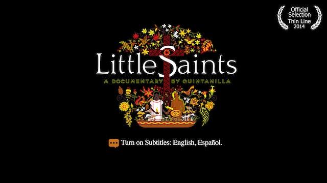 Little Saints: Eat a mushroom, talk to God.