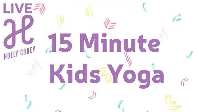 15 Minute Kids Yoga