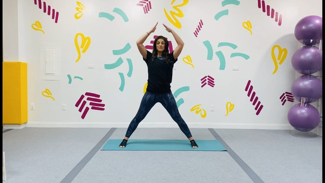 Kids Yoga - Triangle Shape