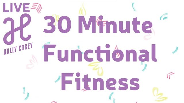 30 Minute Functional Fitness