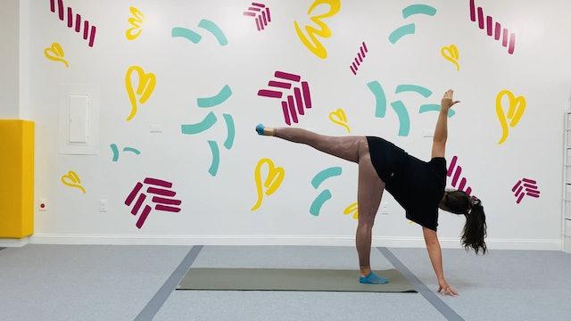 Kid's Yoga - Half Moon Pose