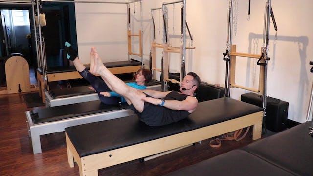 7 Minute Beginner Pilates Mat Flow