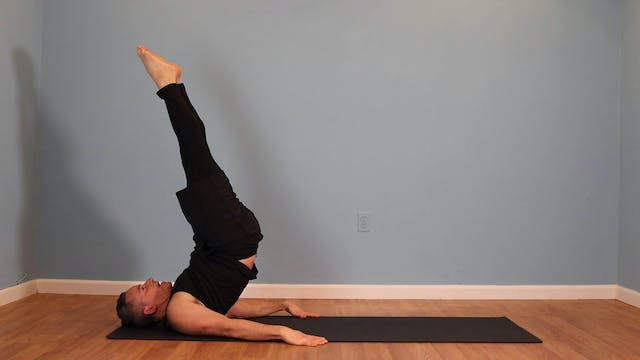 Intermediate Pilates Mat Flow