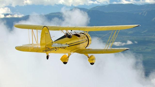 Flight Over Africa