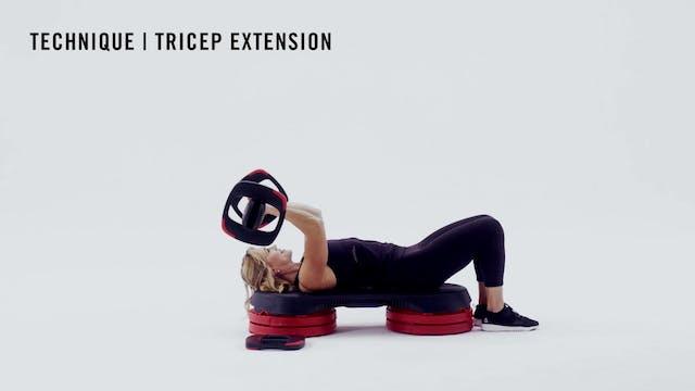LES MILLS TECHNIQUE: Tricep Extension