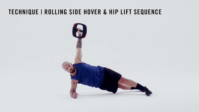 LES MILLS TECHNIQUE: Rolling Side Hover & Hip Lift Sequence