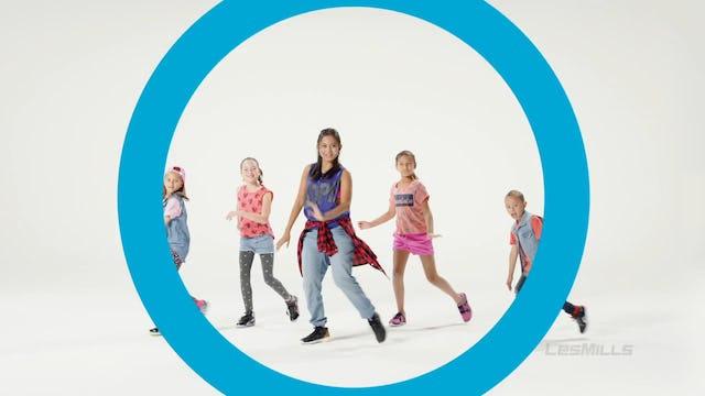 BORN TO MOVE 11 6-7yrs DANCE LMOD