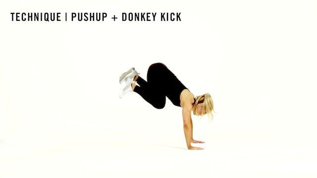 LES MILLS TECHNIQUE: Pushup + Donkey ...