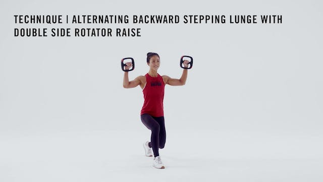 LES MILLS TECHNIQUE: Alternating Back...